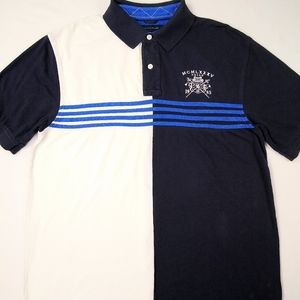 Tommy Hilfiger Shirts - Vtg Tommy Hilfiger Black Striped shirt Size XL TG